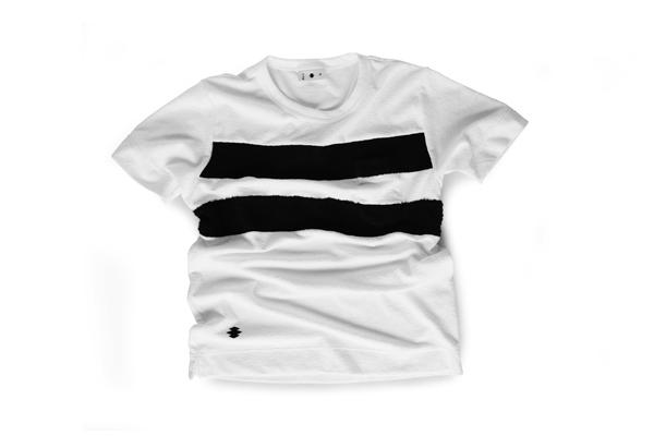 Tシャツ型第101「二本引き」
