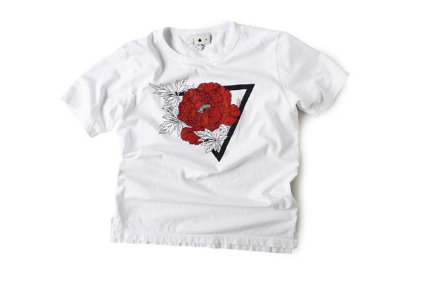 Tシャツ型第84「牡丹」