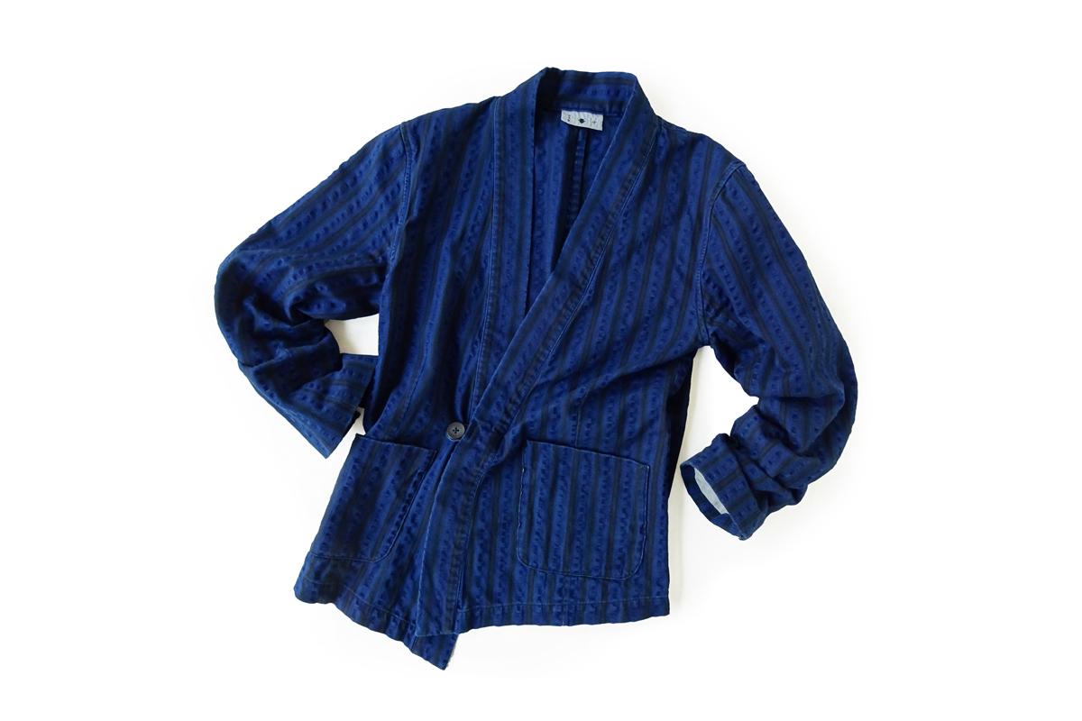 ≪義志≫大和羽織型第8「細縞」藍