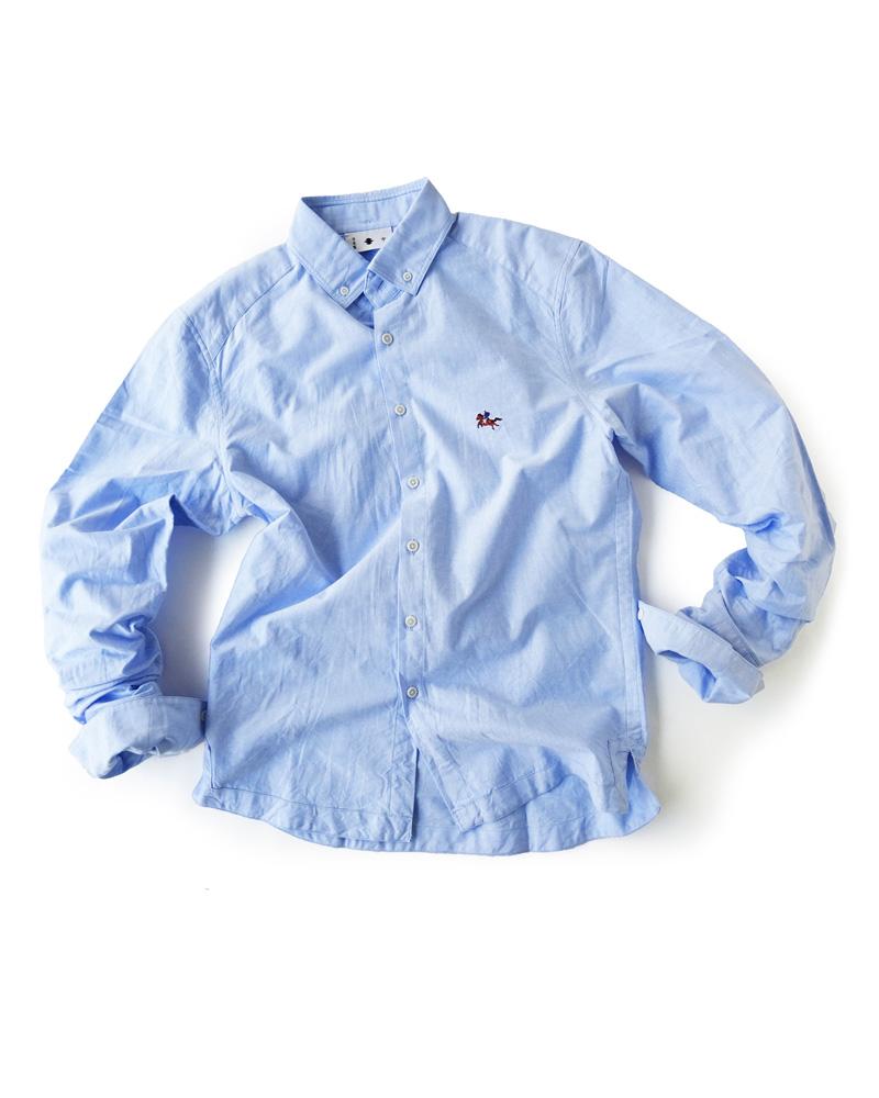 陣羽織シャツ型第18「馬上の侍」空