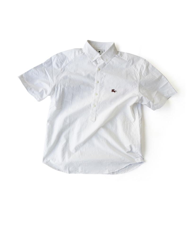 陣羽織シャツ型第20「馬上の侍」白