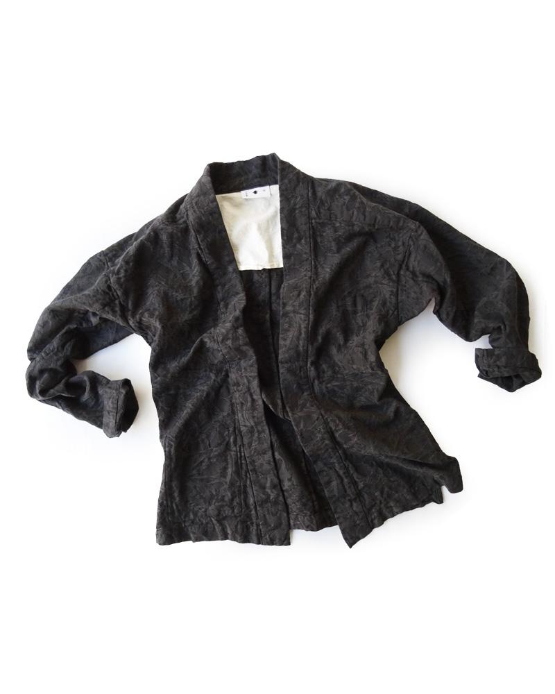 大和羽織型第4「椰子」墨黒