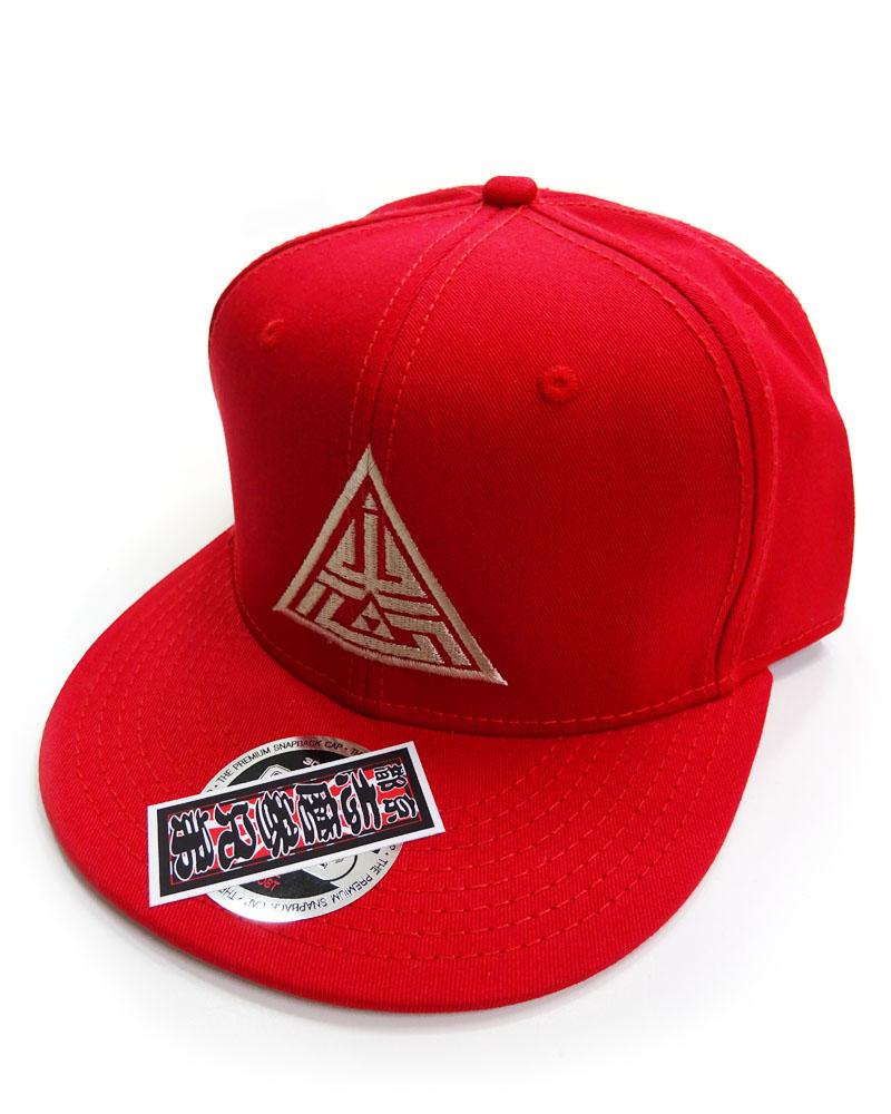 帽子1号「志磨鱗」赤