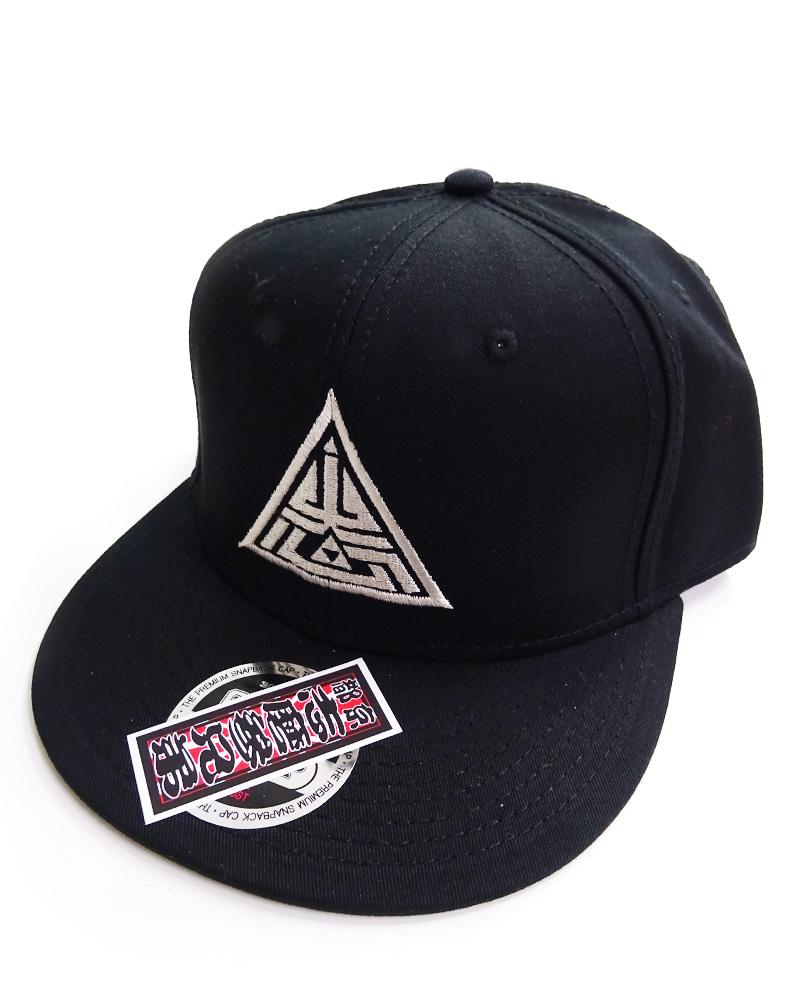 帽子1号「志磨鱗」黒
